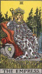 タロット 女帝